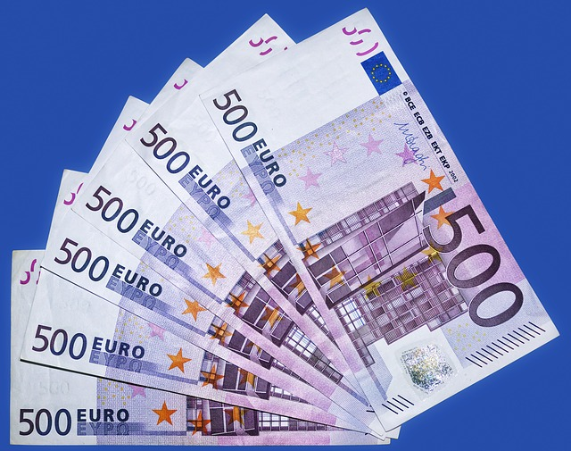 bankovkový vějíř