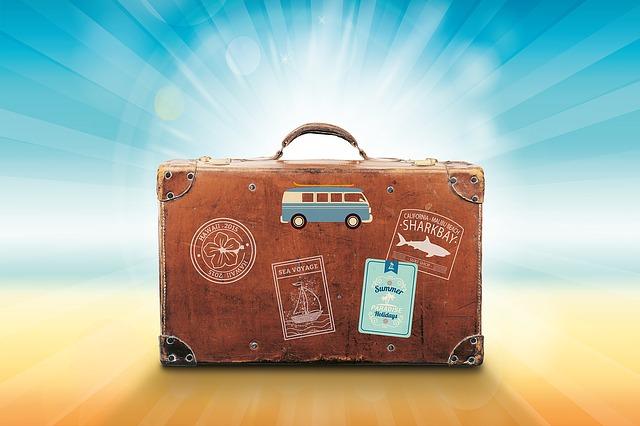 zavazadlo na dovolenou