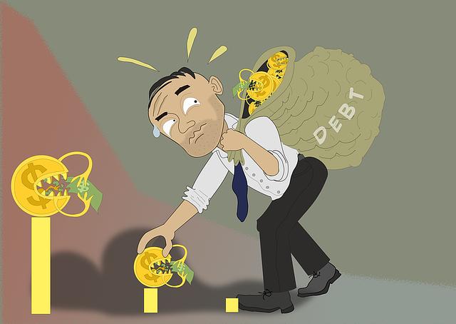 pytel s dluhy