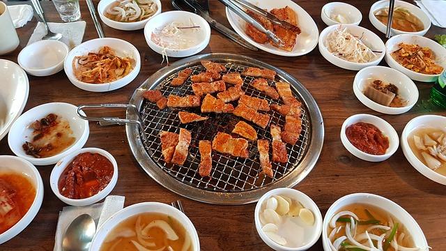 korejské stolování
